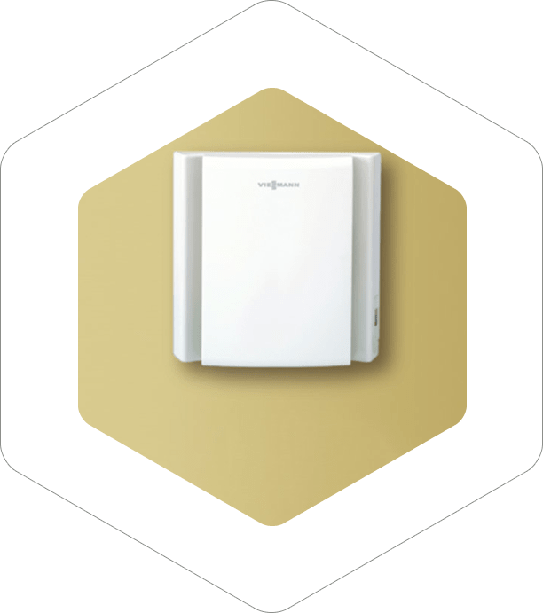 Ventilation with heat recuperator
